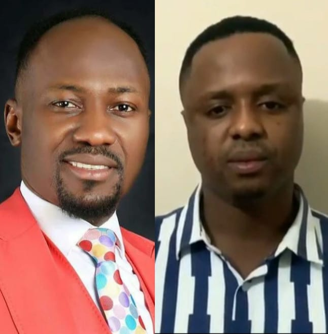 DRAMA: Pastor Mike Who Accused Apostle Suleman of Sleeping With His Wife Apologizes Openly