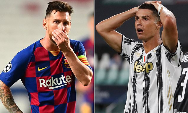 Ronaldo and Messi miss Champions League quarter-finals for first time in 16 years