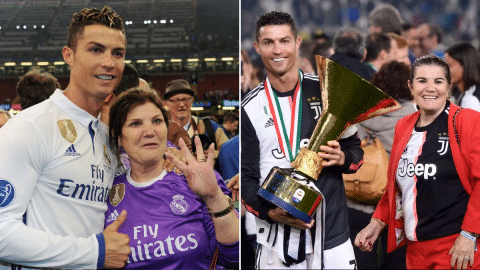 Ronaldo's mom recovering from stroke cries and said: I prayed to God not to take me - Video