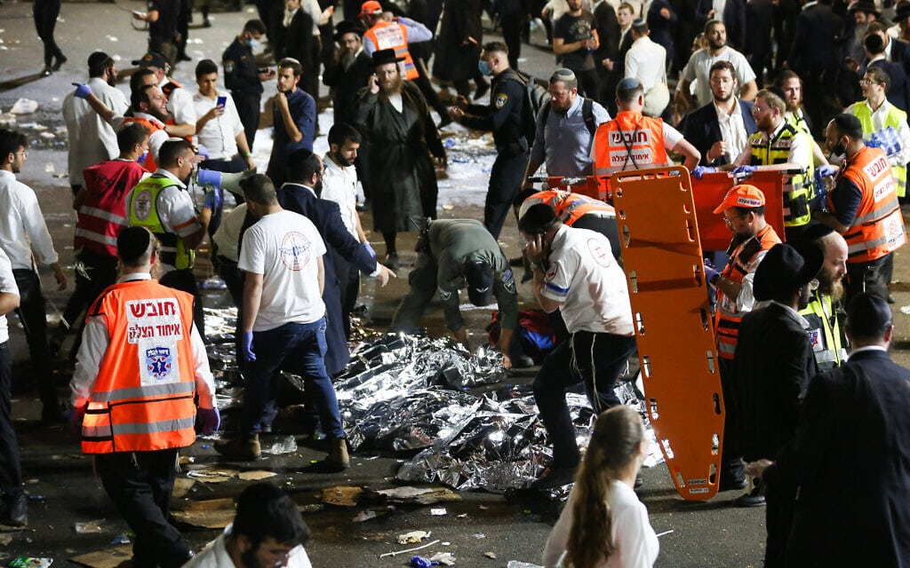 Israel stampede: Many crushed to death at major religious festival