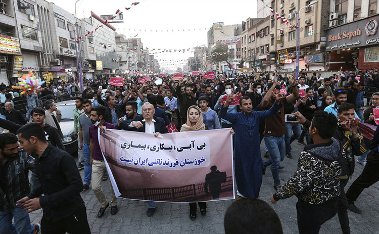 Two killed in Iran's water crisis protests