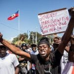 Thousand of Haitians gather outside US embassy seeking asylum from insecurity