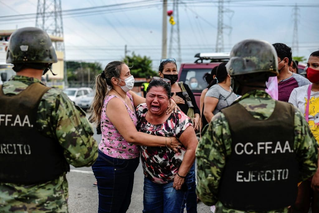 In Ecuador: Death toll from two prison riots climbs to 27 state of emergency declared